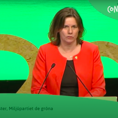 Greens2017 Key Note Speech: Isabella Lövin