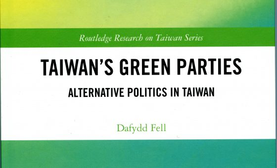 Podcast about new book on Taiwan's Green Parties