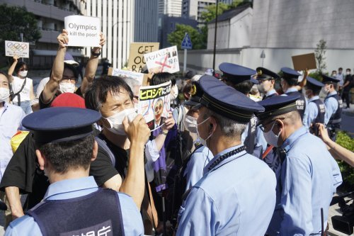 Greens Tokyo  demand calling off Olympics